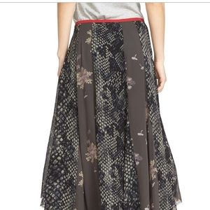 Free People Skirts - Free People Rock On Skirt Black Combo NWT